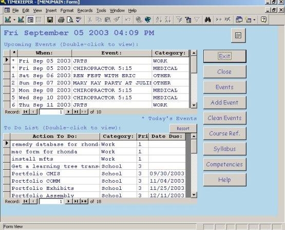 Excel Timekeeper